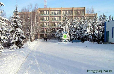 Санаторий Карагайский бор